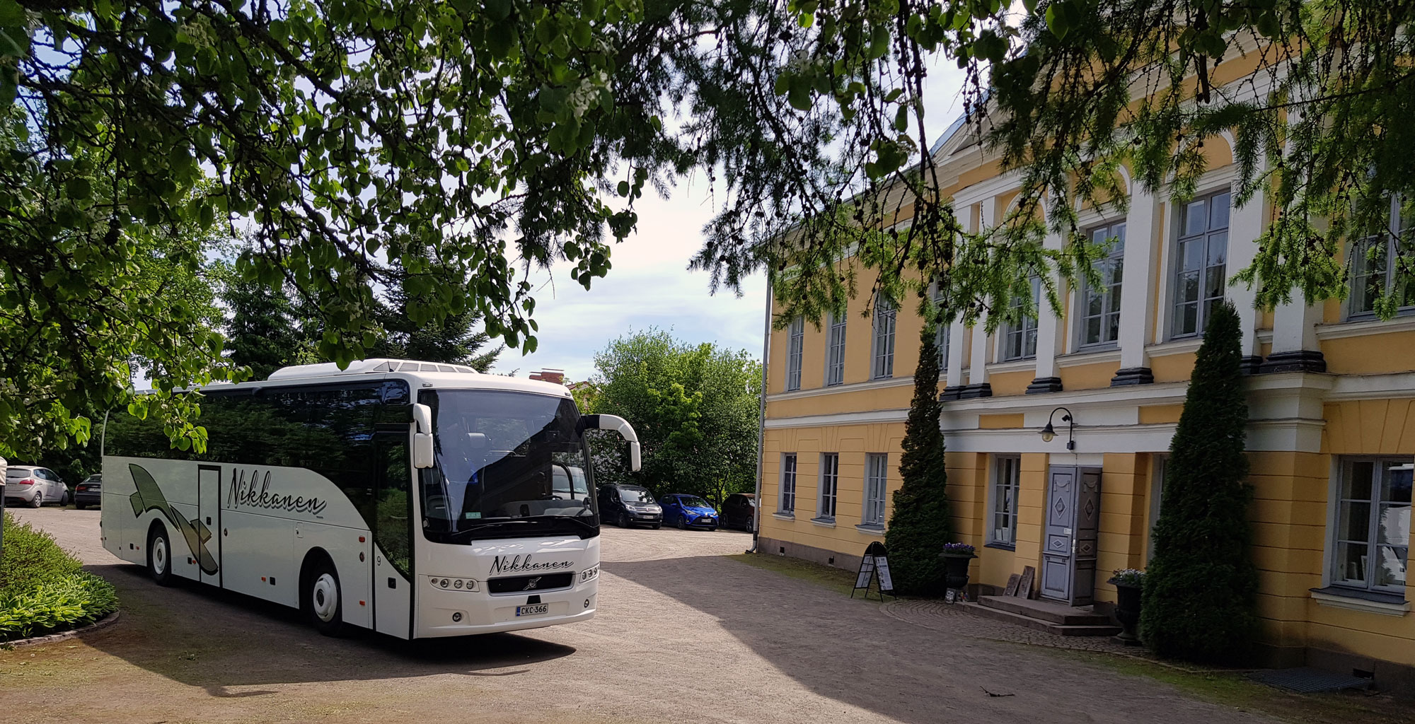 Charter for 1-50 people  in Helsinki Finland area